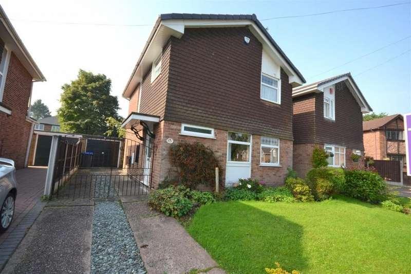 3 Bedrooms Detached House for sale in Jasmine Close, Blythe Bridge, Stoke-On-Trent