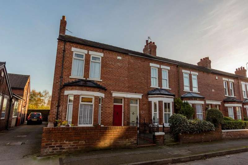 3 Bedrooms End Of Terrace House for sale in Milner Street, YORK