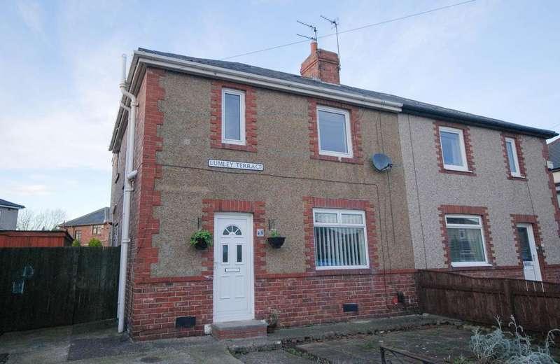 3 Bedrooms Semi Detached House for sale in Lumley Terrace, Jarrow