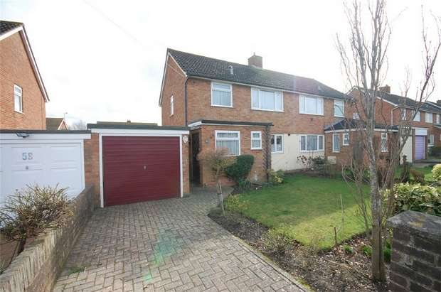 3 Bedrooms Semi Detached House for sale in Bedgrove, Aylesbury, Buckinghamshire
