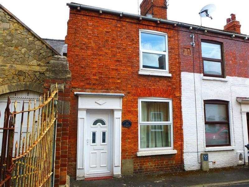 2 Bedrooms End Of Terrace House for sale in Leicester Street, Sleaford, NG34