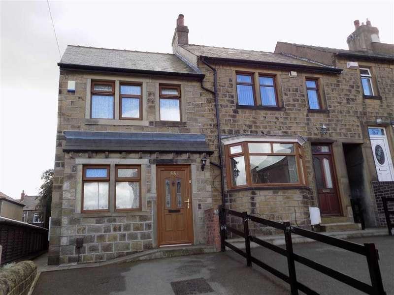 2 Bedrooms End Of Terrace House for sale in William Street, Crosland Moor, Huddersfield, HD4