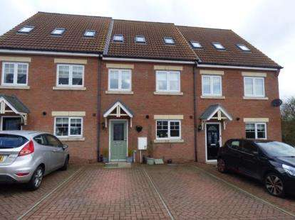 3 Bedrooms Town House for sale in Howard Close, West Cornforth, Ferryhill, Durham, DL17