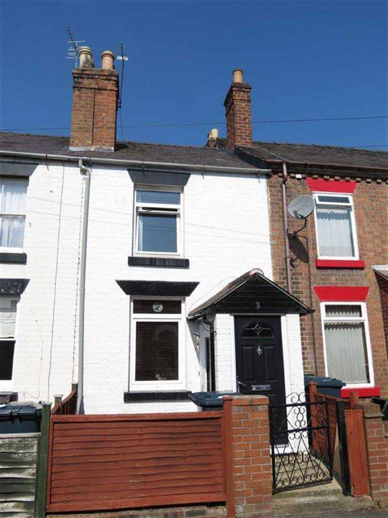 2 Bedrooms Terraced House for sale in Lindley Street, Castlefields, Shrewsbury, Shropshire