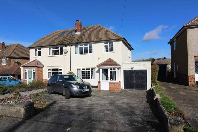 3 Bedrooms Semi Detached House for sale in Charterhouse Road, Orpington, Kent, BR6 9EP