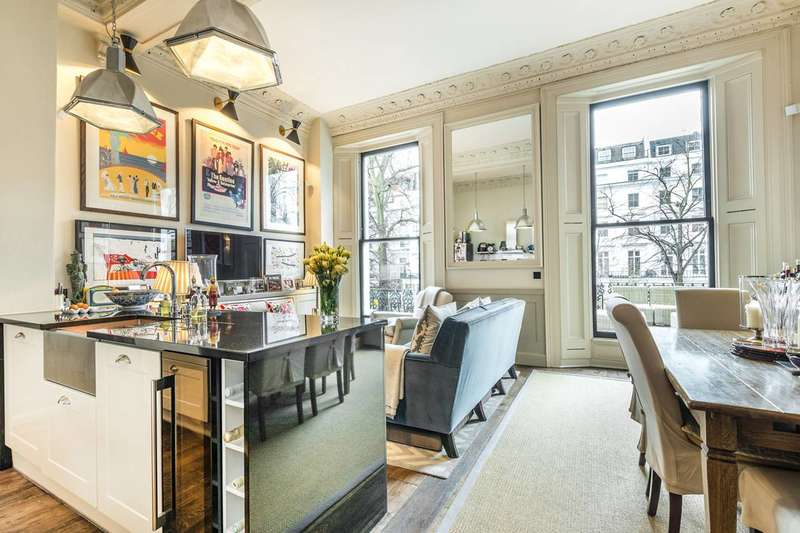 2 Bedrooms Flat for sale in St Stephens Gardens, Notting Hill, W2