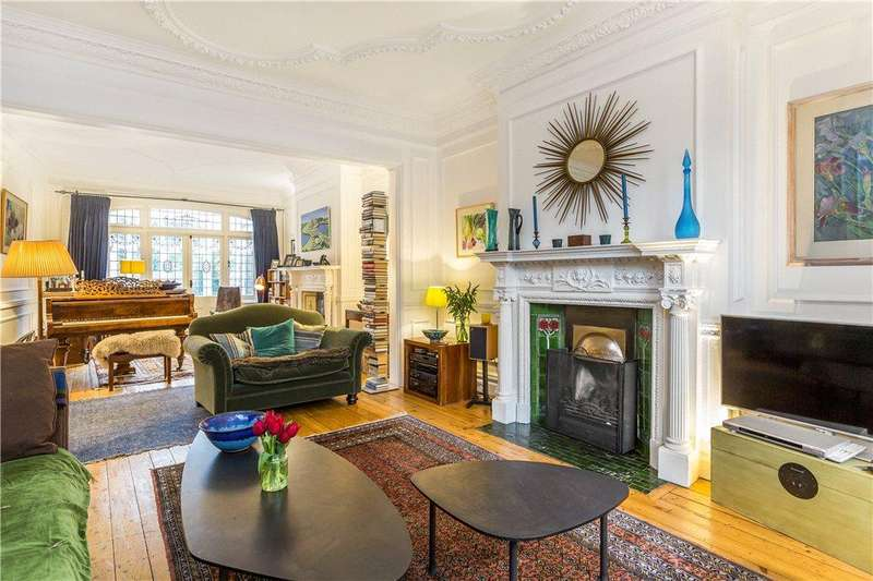 5 Bedrooms End Of Terrace House for sale in Putney Heath Lane, London, SW15