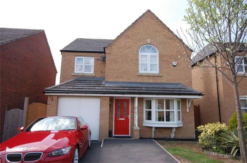 4 Bedrooms Detached House for sale in Ellington Way, Waterside Village, St Helens, Merseyside