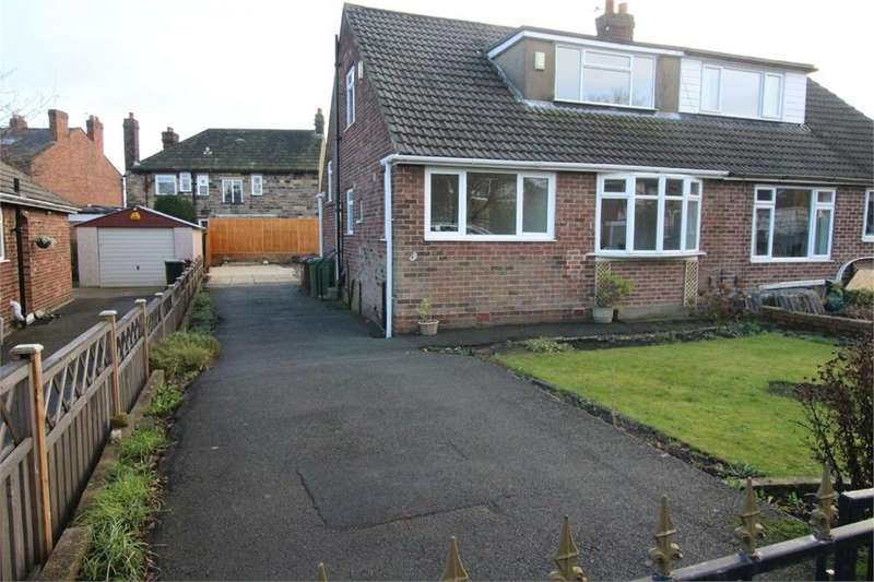 2 Bedrooms Semi Detached Bungalow for sale in Dean Park Drive, DRIGHLINGTON, West Yorkshire