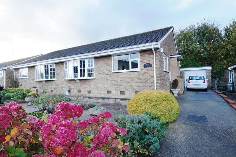 2 Bedrooms Semi Detached Bungalow for sale in Ashburn Rise, Scarborough