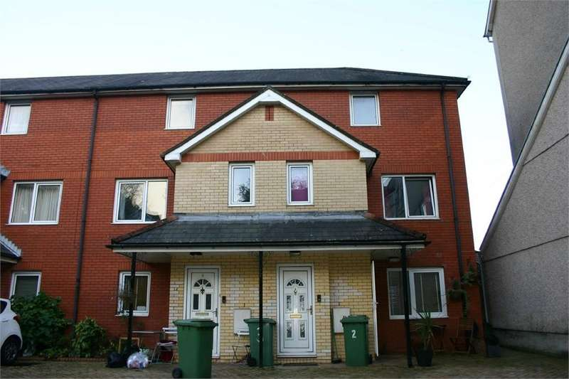 2 Bedrooms Maisonette Flat for sale in Gelliwastad Court, Library Road, Pontypridd, Mid Glamorgan