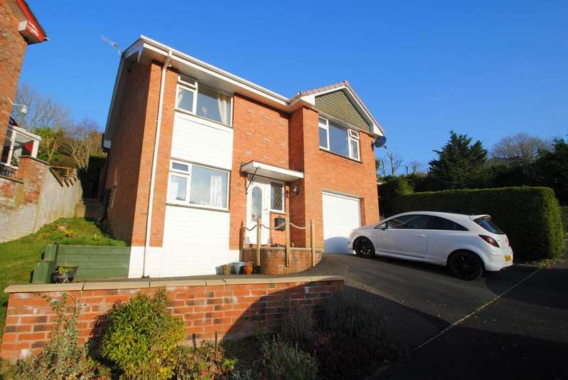 4 Bedrooms Detached House for sale in Score View, Ilfracombe
