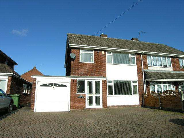 3 Bedrooms Semi Detached House for sale in Mill Road,Pelsall,Walsall
