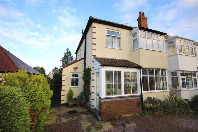 3 Bedrooms Semi Detached House for sale in Pilford Avenue, Leckhampton, Cheltenham, GL53