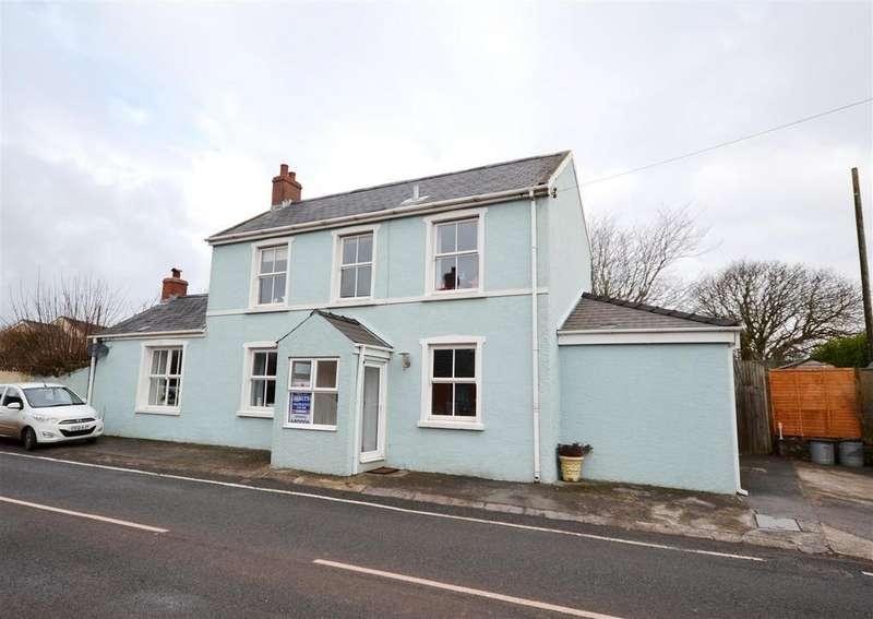 3 Bedrooms Detached House for sale in The Green, Hundleton, Pembroke