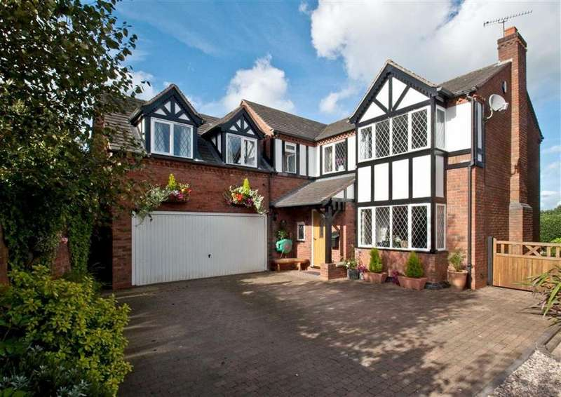 4 Bedrooms Detached House for sale in The Priory, Church Lane, Coven, Wolverhampton, South Staffordshire, WV9