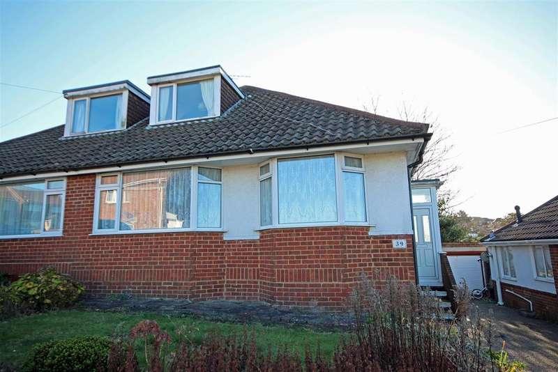 3 Bedrooms Semi Detached Bungalow for sale in Rustington Road, Patcham, Brighton