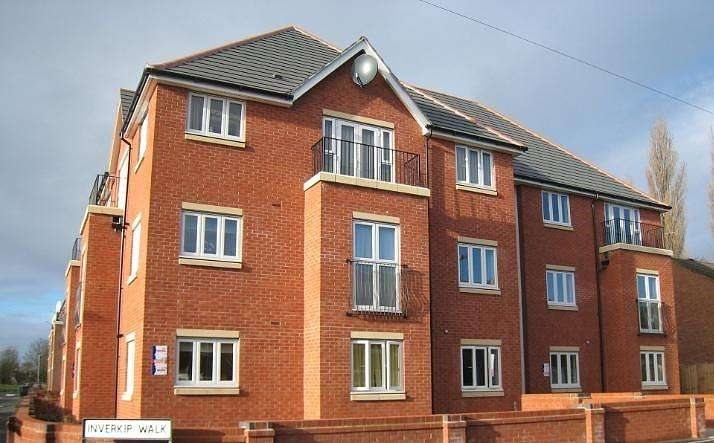 2 Bedrooms Flat for sale in Inverkip Walk, Monmore Green