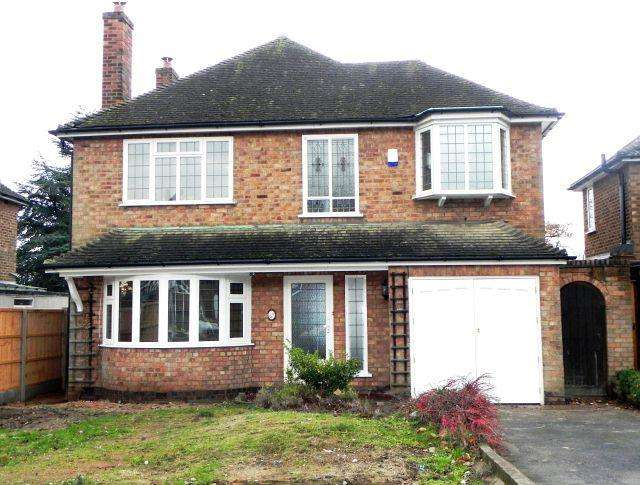 4 Bedrooms Detached House for sale in West View Road,Sutton Coldfield,West Midlands