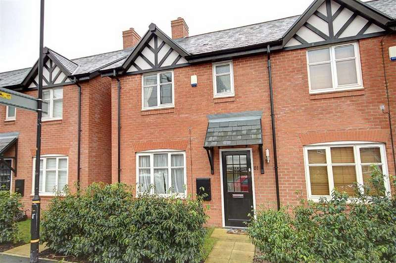 3 Bedrooms Semi Detached House for sale in Woodfield Road, Altrincham, Cheshire