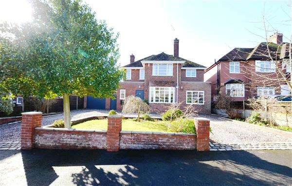 4 Bedrooms Detached House for sale in Greenway, Trentham, Stoke-On-Trent