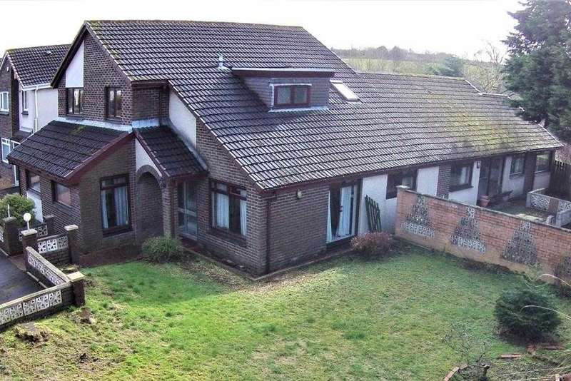 5 Bedrooms Detached House for sale in Myvot Road, Condorrat, Cumbernauld
