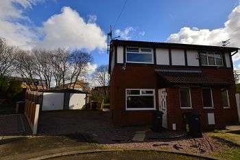 2 Bedrooms Semi Detached House for sale in The Sheddings, Bolton, BL3