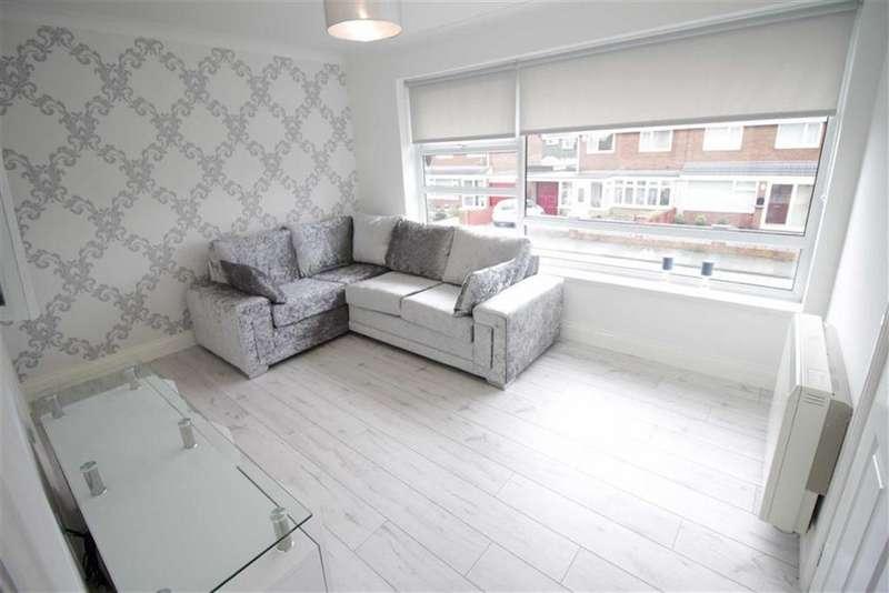 1 Bedroom Flat for sale in Glendale Avenue, Choppington, NE62