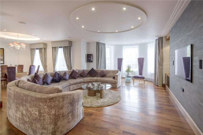 4 Bedrooms Flat for sale in Abbey Lodge, St John's Wood, London, NW8