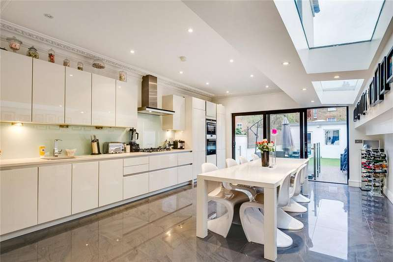 4 Bedrooms Terraced House for sale in Stephendale Road, Fulham, London
