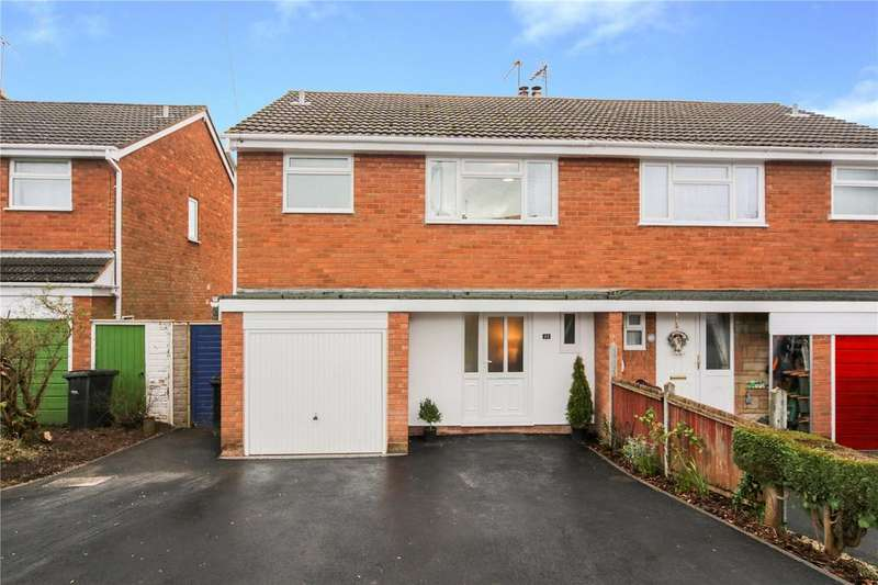 3 Bedrooms Semi Detached House for sale in Ronhill Crescent, Cleobury Mortimer, Kidderminster, Shropshire