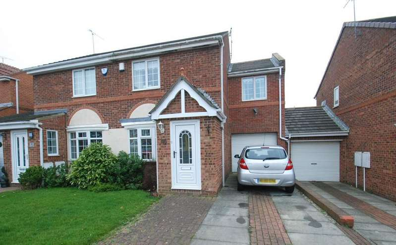 3 Bedrooms Semi Detached House for sale in Beacon Glade, South Shields