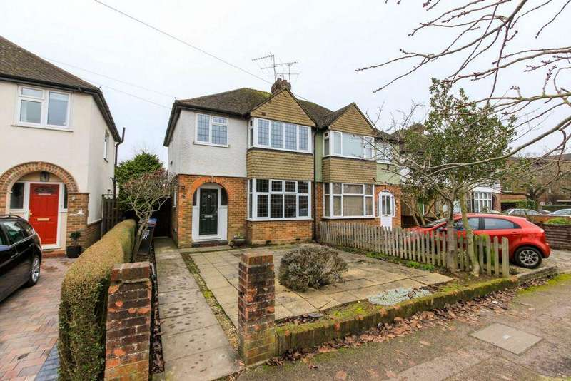 3 Bedrooms Semi Detached House for sale in Homestead Road, Hatfield, AL10