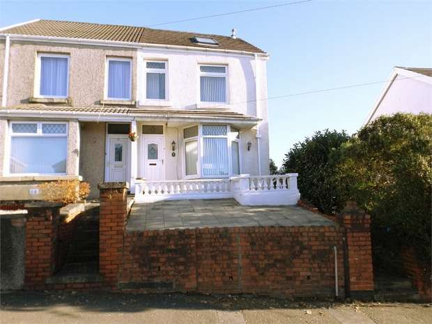 4 Bedrooms Semi Detached House for sale in Penywern Road, Neath, West Glamorgan