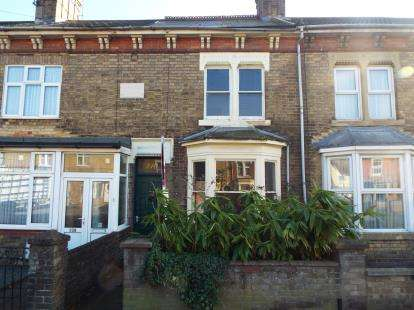 2 Bedrooms Terraced House for sale in Oundle Road, Peterborough, Cambs, .