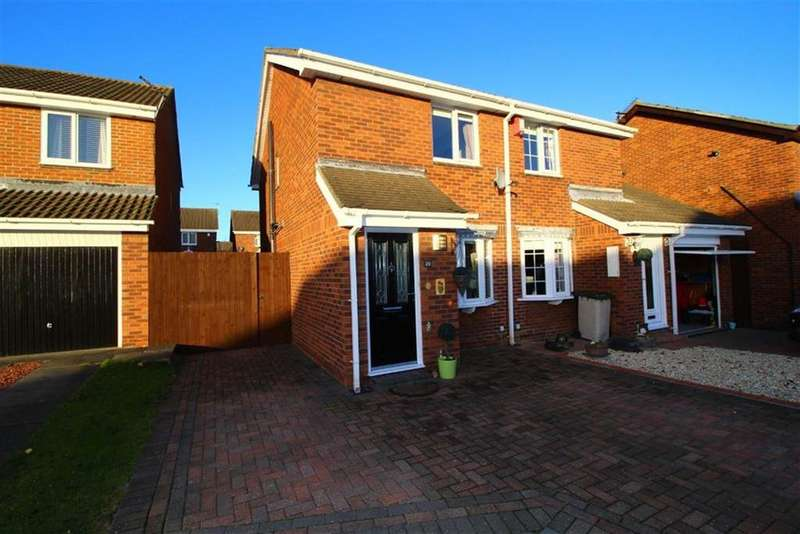 2 Bedrooms Semi Detached House for sale in Dalton Court, Wallsend, NE28