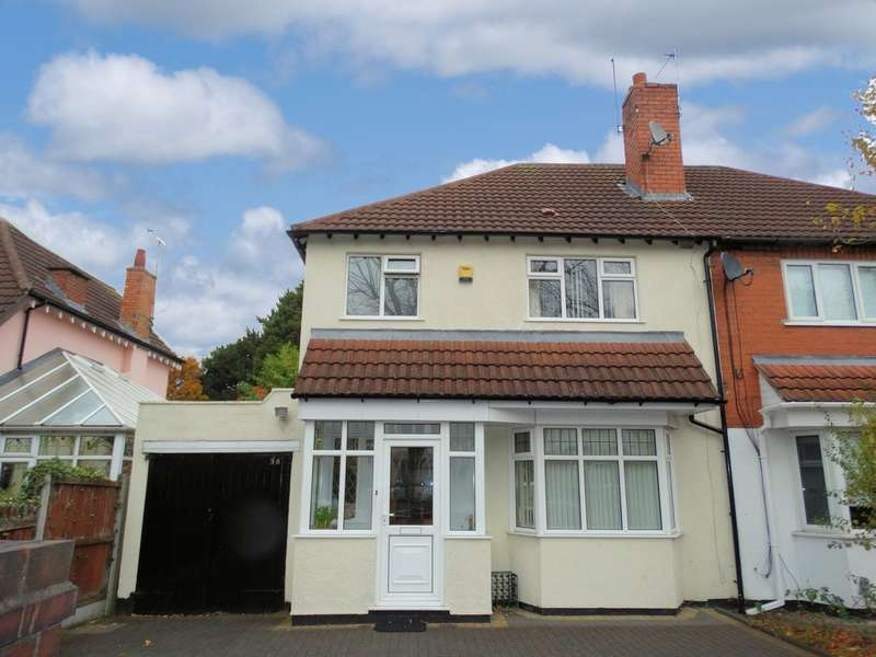 3 Bedrooms Semi Detached House for sale in School Road, Hall Green