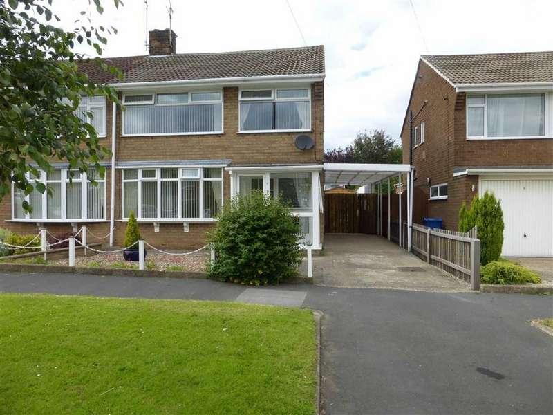 3 Bedrooms Semi Detached House for sale in Drydales, Kirk Ella, Kirkella, HU10