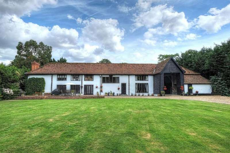 5 Bedrooms Detached House for sale in The Street, Topcroft, Bungay