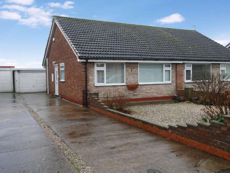 2 Bedrooms Semi Detached Bungalow for sale in Hansard Drive, Gilberdyke