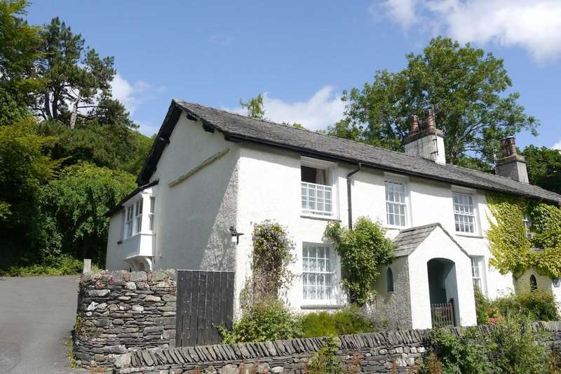 4 Bedrooms Cottage House for sale in Todd Crag House, Clappersgate, Ambleside LA22 9NA