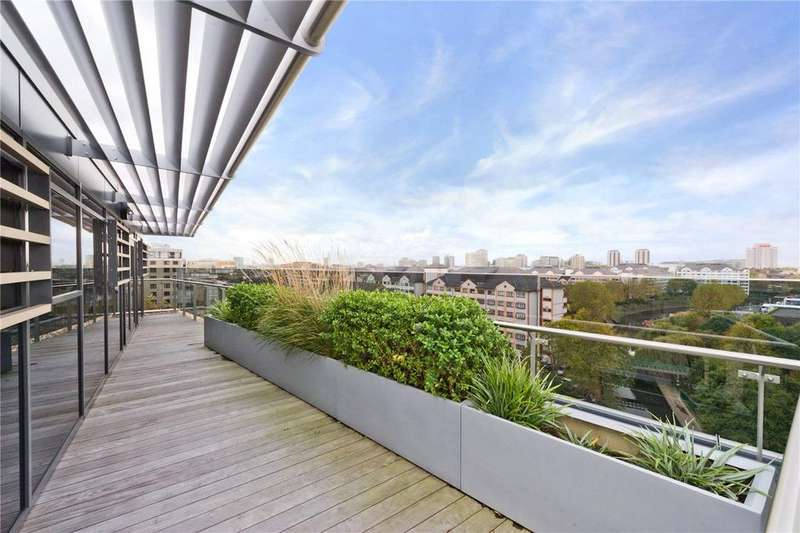 4 Bedrooms Flat for sale in Penthouse C, The Atrium, 127-131 Park Road, St John's Wood, NW8