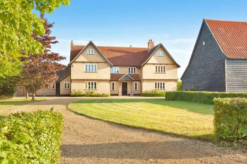 5 Bedrooms Detached House for sale in Locks Lane, Leavenheath, Colchester, Suffolk