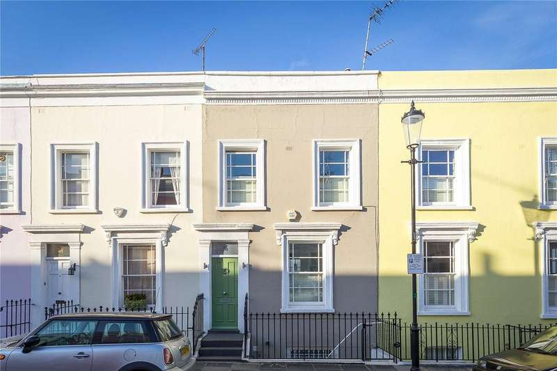 3 Bedrooms Terraced House for sale in Hillgate Place, Kensington, London