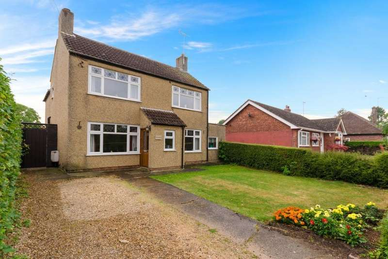3 Bedrooms Detached House for sale in Station Road, Morton, Bourne, PE10