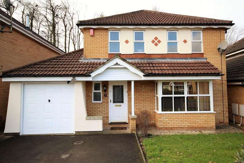 4 Bedrooms Detached House for sale in Gores Park, High Littleton