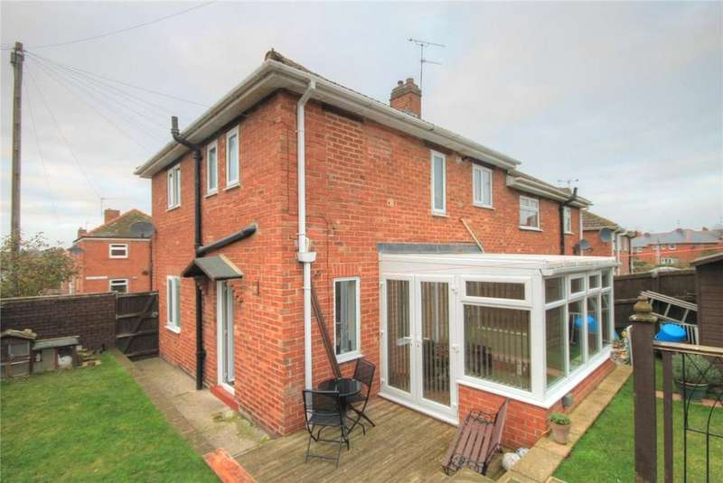 3 Bedrooms Semi Detached House for sale in Derby Drive, Consett, Durham, DH8