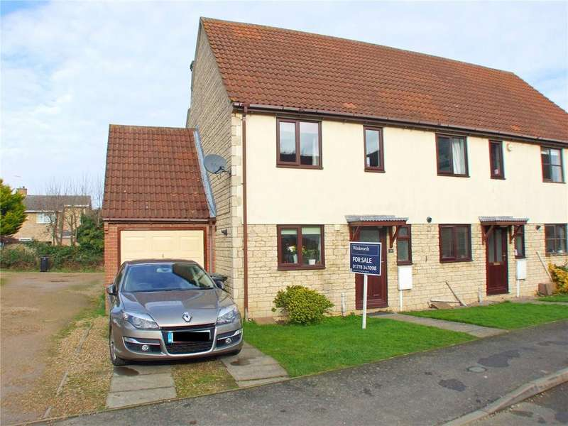 3 Bedrooms End Of Terrace House for sale in Stephens Way, Deeping St. James, Peterborough, PE6