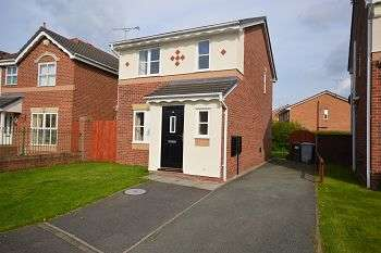 3 Bedrooms Detached House for sale in Beltony Drive, Crewe, CW1 4TX