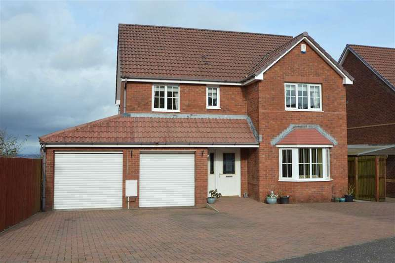 4 Bedrooms Detached House for sale in Huntly Gardens, Westcraigs, Blantyre